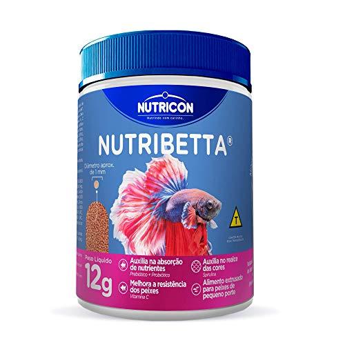 Nutribetta 12gr Nutricon Para Betta Adulto