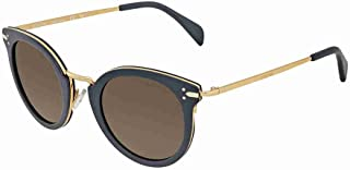 ee8f206c5748 Celine 41373 S HDE Petrol Gold 41373 S Round Sunglasses Lens Category 3