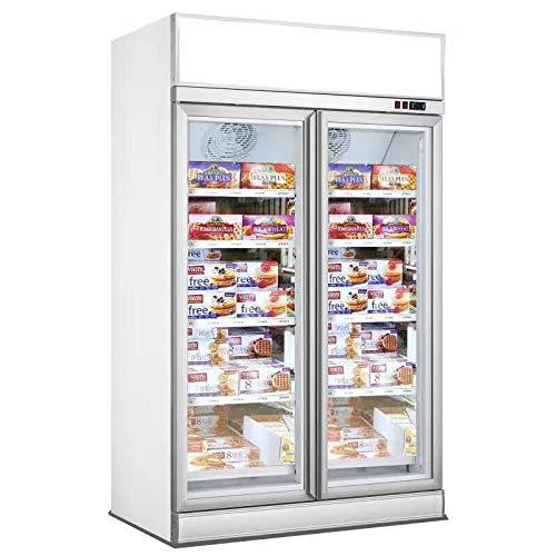 Armario refrigerado positivo blanco – 2 o 3 puertas – Combisteel – 1253 mm Negro