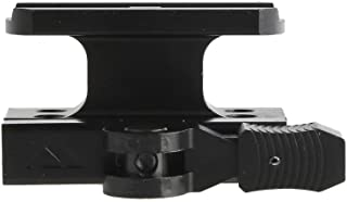 AIM Sports Inc Red Dot Quick Release Mount Lower 1/3 Co-Witness to Aim Point T1, Black, NSN MTQ073