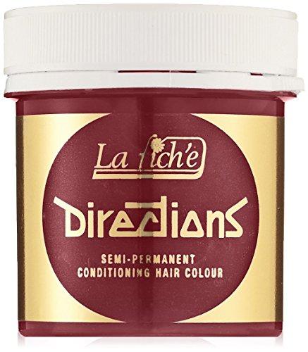 La Riche Directions Unisex Semi Permanent Haarfarbe, rot, 1er Pack (1x 89 ml)