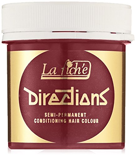 DIRECTIONS Pillarbox Red Semi-Permanent Hair Colour - 89ml Tub