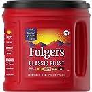Folgers Classic Roast Ground Coffee, Medium Roast, 30.5 oz