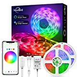 32.8ft Smart LED Strip Lights, Music Sync 5050 LED Lights Strip RGB Color Changing,...