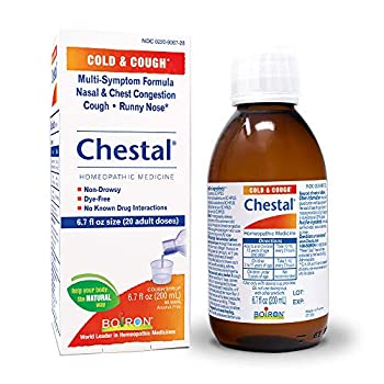 Boiron Chestal Adult Cold and Cough Syrup 6.7 Fl Oz  Pack of 1