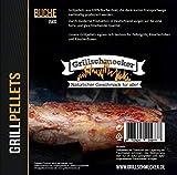 GRILLSCHMECKER Grill Pellets 100% Buche 15kg im Sack -