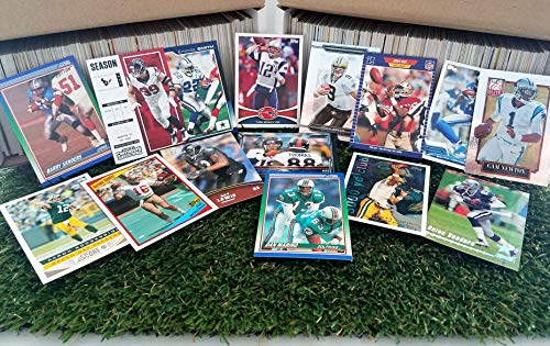 Football Cards- (900) Card Super Jumbo lot of Football Cards Starter Kit with Guaranteed Superstars from the 1970's to present. Great for the 1st time collector & B-day! Thank you Over 3,200 SOLD!