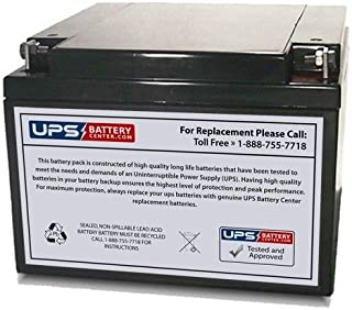 12V 26AH Sealed Lead Acid (SLA) Replacement Battery for WERKER WKA12-26NB