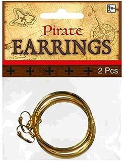 Hoop Earrings - Fun Pirate Accessory