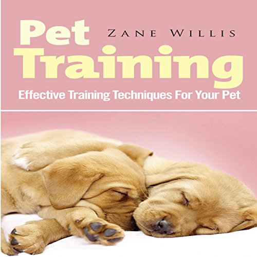 Pet Training audiobook cover art