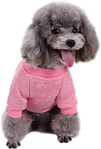 Jecikelon Knitwear Dog Sweater