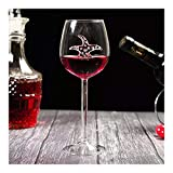 shiqi Copa de vino tinto de 300 ml para vino tinto o whisky de vino tinto o cerveza Bar fiesta boda (capacidad: 300 ml,...