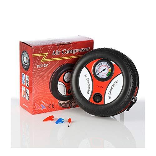 YANGYUAN Mini inflador de neumáticos, bomba de compresor de aire portátil con bomba de aire de 12 V para neumáticos de coche, bicicleta y motocicleta (tamaño: S)