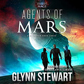 Agents of Mars audiobook cover art