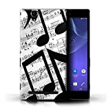 Stuff4 Phone Case for Sony Xperia T2 Ultra Black Fashion