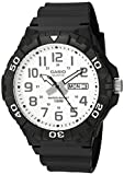 Casio Men's 'Diver Style' Quartz Resin Casual Watch, Color:Black (Model: MRW-210H-7AVCF)
