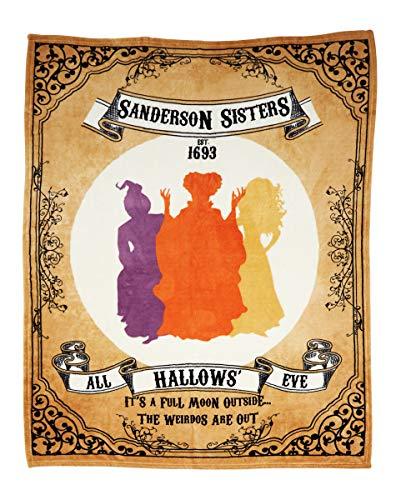 Spirit Halloween Hocus Pocus Fleece Blanket | Officially Licensed