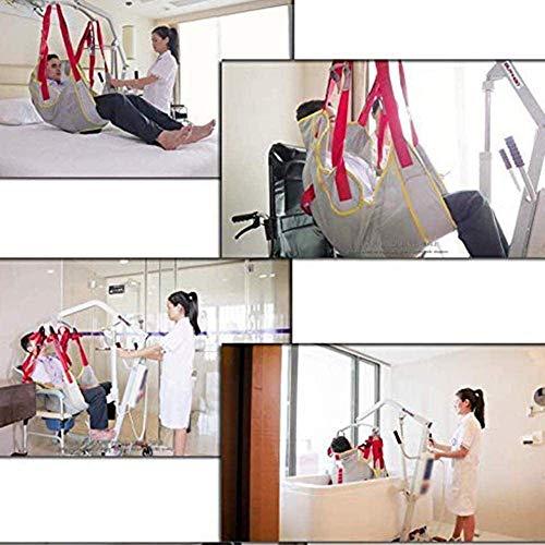 51IaZVcbxEL - QBWASY Cinturón de Transferencia médica de elevación,Paciente Cinturón De Transferencia para Bariátrico, Enfermería,Anciano, Discapacitado, Cuerpo Completo Y Postrado En Cama