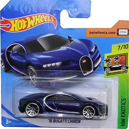 Hot Wheels \'16 Bugatti Chiron HW Exotics 7/10