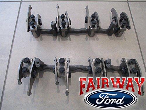 2008-2010 Ford Super Duty 6.4 Diesel Powerstroke Engine Valve Rocker Arm Set OEM