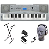 Yamaha DGX230 76-Key Digital Piano Pack with Stand, Power Supply, and...