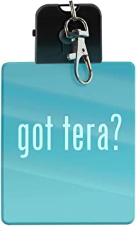 got tera? - LED Key Chain with Easy Clasp