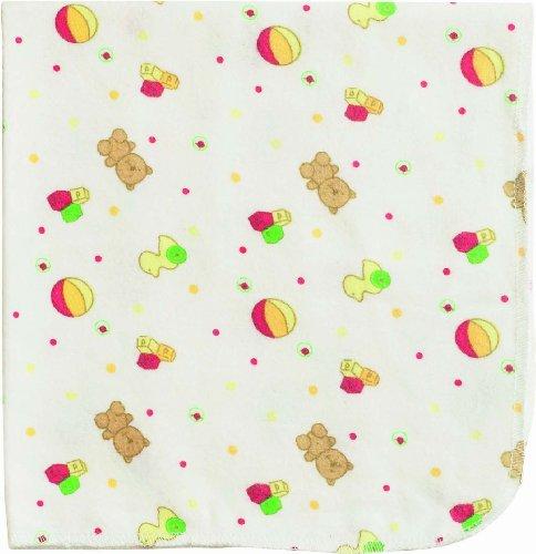 Playshoes 770253-777 molton doek kleurrijk bedrukt, verpakking van 3, afmetingen circa 40 x 40 cm