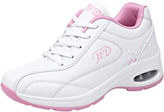 Qootent Women's Running Shoes Air Cushion Sneakers Tennis Sport Athletic Shoes