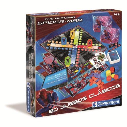 Clementoni - Juegos Clasicos 80 Spiderman 17-65471