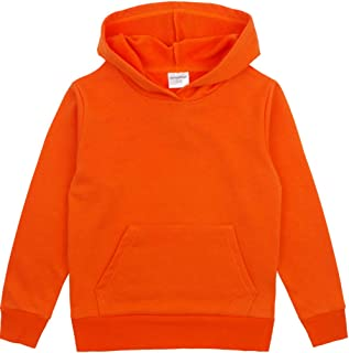 Spring/&Gege Youth Solid Classic Hoodies Soft Hooded Sweatshirts for Children 3-12 Years