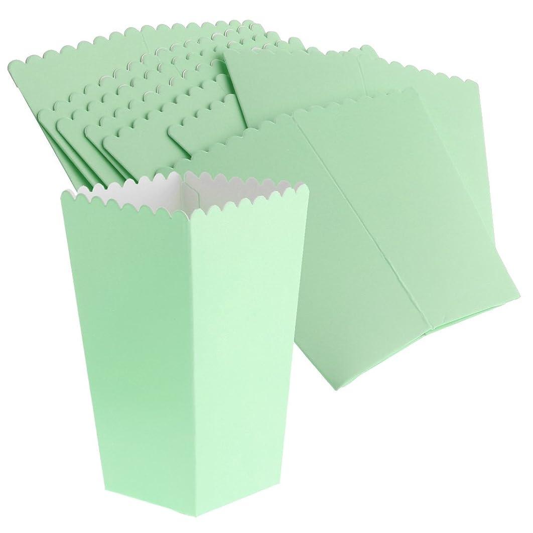 母性結核少数Perfk 8個 ポップコーンボックス ポップコーン キャンデー お菓子 入れ物 紙製