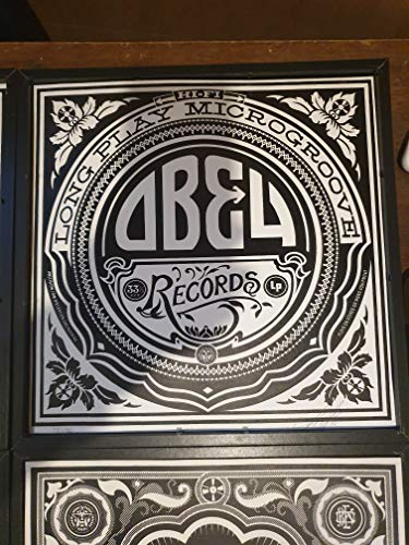 ARTWORK PRINTS Obey Records – signiert & nummeriert – Microgroove Music