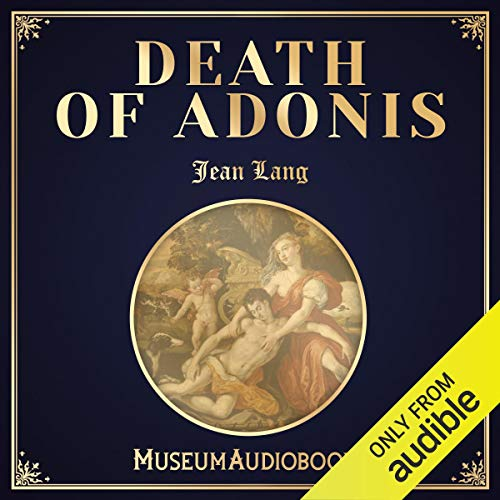 Death of Adonis audiobook cover art