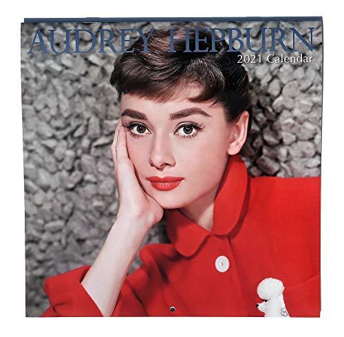 2021 Audrey Hepburn Wall Calendar, 12 x 24 inch Monthly Calendar, 16-Month