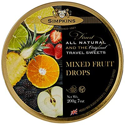 simpkins mixed fruit travel sweet, 200 g (pack of 6) Simpkins Mixed Fruit Travel Sweet, 200 g (Pack of 6) 51IaeRyBqBL