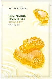 Nature Republic Real Nature Mask Sheet_10Sheet (#Royal Jelly)
