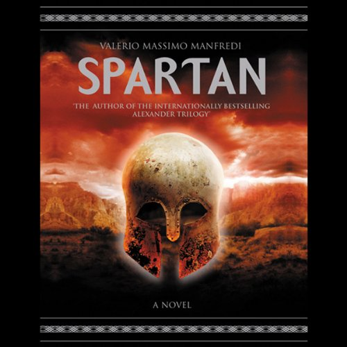 Spartan audiobook cover art