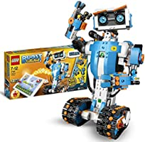 LEGOBOOSTToolboxCreativa,KitdiRoboticaperRagazzi,ModellodaCostruire5in1ControllatoviaAppconRobotGiocat...