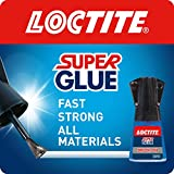 Loctite Super Glue Brush On, Superglue with Applicator Brush, Fast-Drying Clear Glue