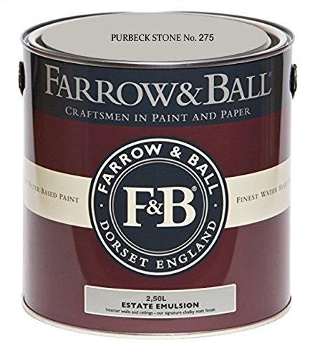 Farrow & Ball Estate Emulsion 2,5 Liter - PURBECK STONE No. 275