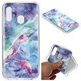 HUAYIJIE YH Coque pour Samsung Galaxy A20E SM-A202F Coque Phone Case Cover Etui Housse 3