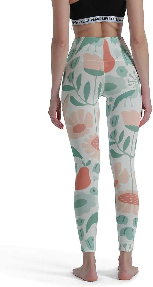 Womens Ladies Leggings Print Pattern Yoga Sport Full Length Size Floral Trousers