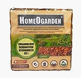 HomeOgarden 60 Liter Dekorativer Kokosmulch Rindenmulch Kokosstücke 20-40mm Garten-Mulch Dekormulch