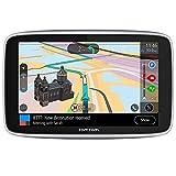 TomTom Car Sat Nav GO Premium 6 Inch with Updates via Wi-Fi, Traffic and Speedcam Warnings via SIM Card, World Maps, Last Mile Navigation and IFTTT
