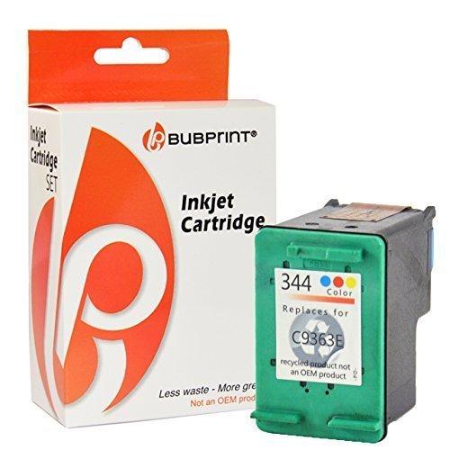 Bubprint Druckerpatrone kompatibel für HP 344 HP344 für Deskjet 5740 6500 9800 Officejet 100 150 Mobile K7100 H470 Photosmart 335 385 8050 8450 Farbe