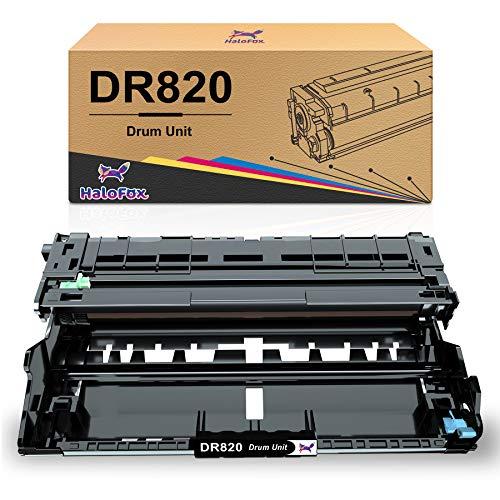 HaloFox Compatible Drum Unit Replacement for Brother DR820 DR-820 DR 820 Fit for MFC-L5900DW HL-L6200DW HL-L5100DN MFC-L5800DW MFC-L5700DW HL-L5200DWT MFC-L6700DW HL-L5200DW (Black,1 Drum)