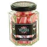 Wendy's Candies - Candy sweet -Dulce 'humbugs' de especialidad inglesa- golosina clásica revisitada en esta cóctel Pink Gin - De fabricación artesanal - San Valentín - Enamorados