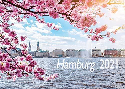 Edition Seidel Premium Kalender Hamburg 2021 DIN A3 Wandkalender Deutschland