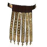 NASIR ALI Cinturón para delantal de cuero romano griego, ac