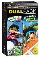 Hot Shots Golf Open Tee and Hot Shots Tennis Get a Grip Dual Pack (輸入版:北米) PSP